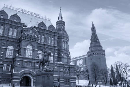 Building on Red Square in Moscow.