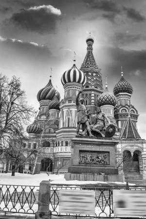 St. Basil Cathedral in Moscow.