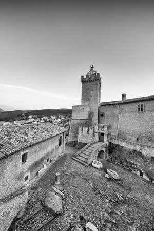 Old Castle in Tuscany