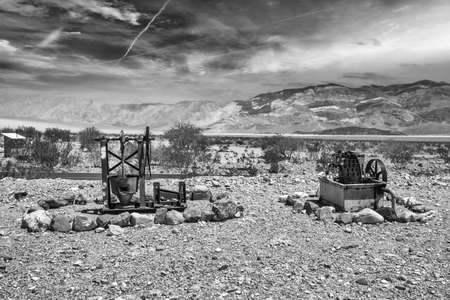 Old devices in Death Valley.