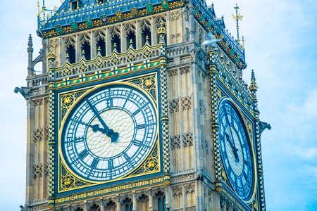 The Big Ben, London. 免版税图像