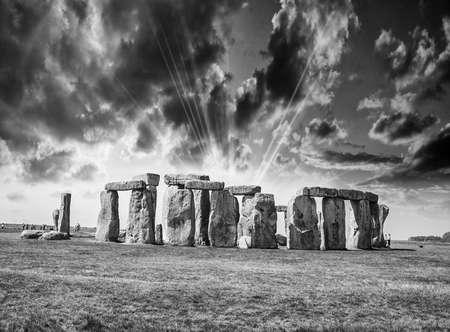 Stonehenge. 写真素材