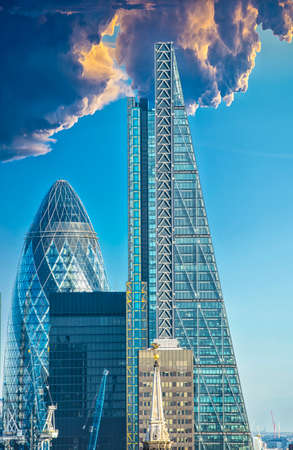 Details of new Skyline of London.