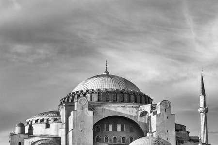 Santa Sofia Kathedrale in Istambul, Türkei.