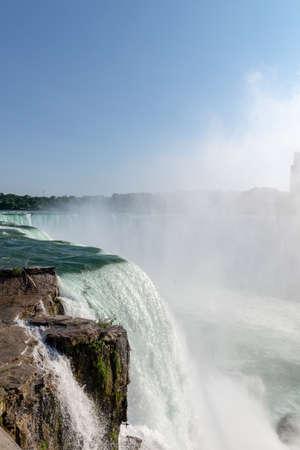 Beautiful view of Niagara Falls.