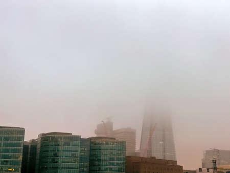 Fog in London.