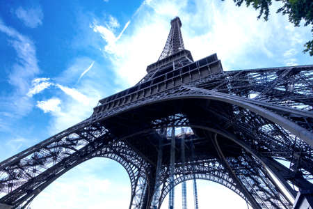 Particular view of Eiffell Tower.