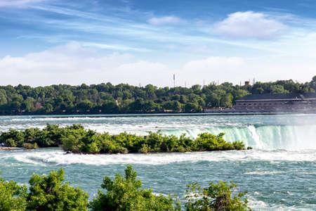 Beautiful view of Niagara Falls. 스톡 콘텐츠