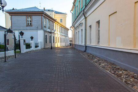 Morning Vladimir city backstreet