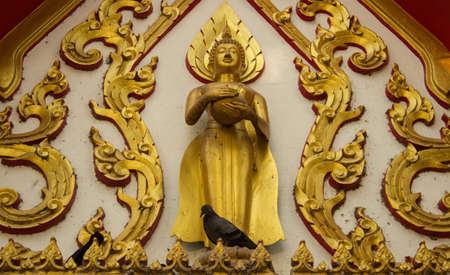 Thai buddha images Stock Photo