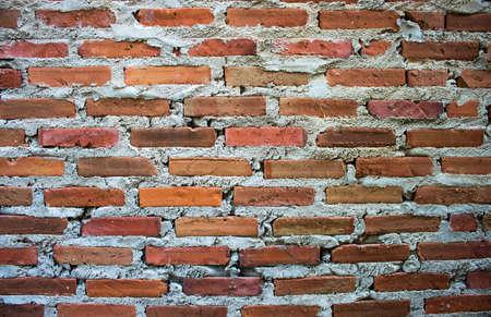 Le pareti sono fatte di mattoni Brown