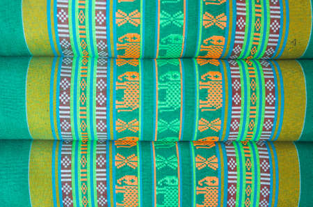 The Thai pattern is a beautiful background  Stock Photo