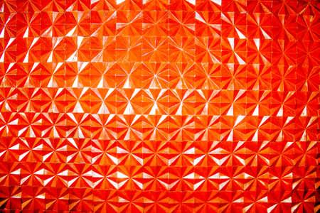 Orange striped walls are a beautiful background