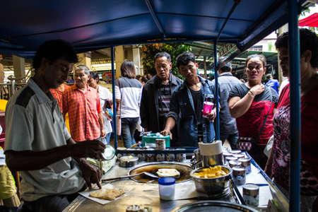 SINGBURI, THAILAND-AUGUST 15 : Unidentified man making