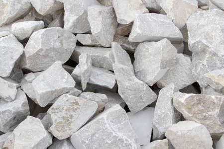 Carrière de marbre, marbre blanc, marbre de fond, la texture des pierres Banque d'images - 34695647