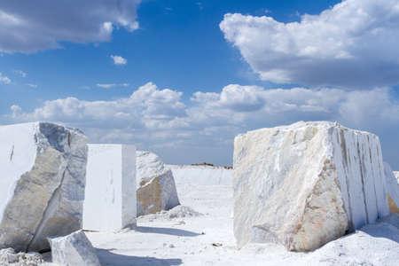 Kamieniołom marmuru Zdjęcie Seryjne