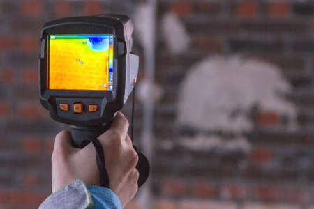 Thermal Image of Heat Leak through Windows