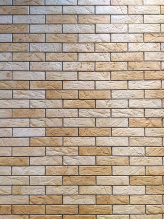 Light brick wall, background, clinker. 写真素材