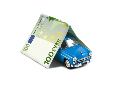 surety: blue car in the garage out of the money