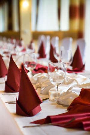 food and drink industry: Preparazioni colazione in un hotel di lusso