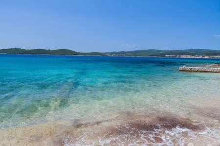 Beautiful Croatian seashore