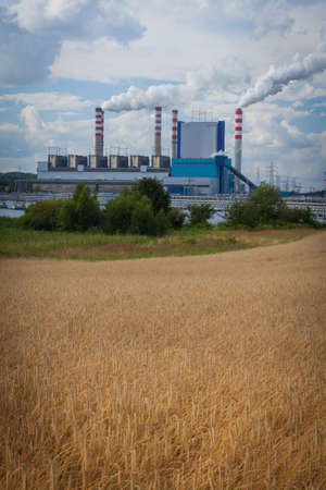 Small power plant working