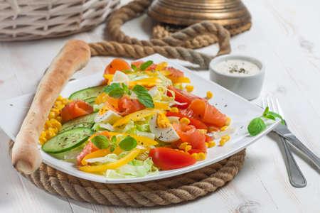 Sailor s salad close-up