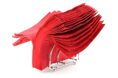 batch: Batch of red napkins