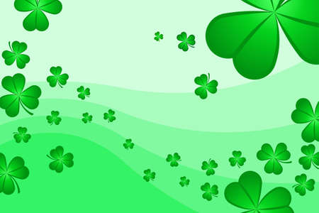 Shamrock Background Stock Photo - 2563382