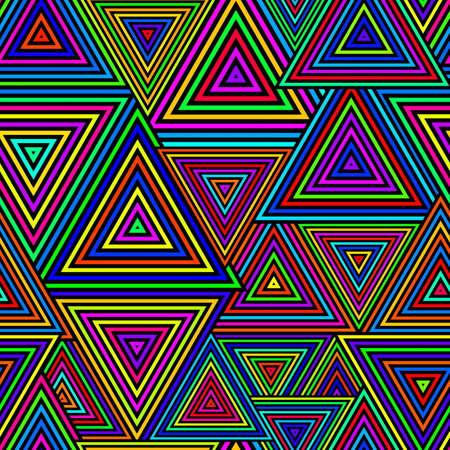 원활한 삼각형 패턴