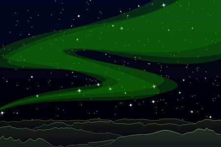 aurora: Aurora Illustration