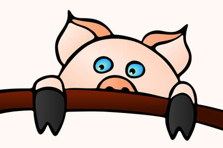 oink: Swine Oink Illustration