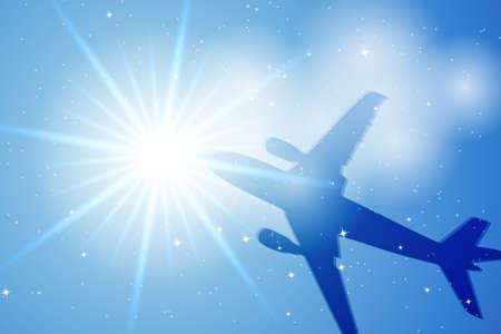 aeronautic: Sky Illustration