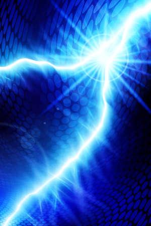 블루 에너지 일러스트