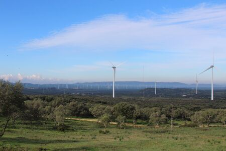 Wind farm Fascinas, Andalusia, Spain