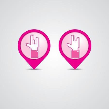 Check-in Love Illustration