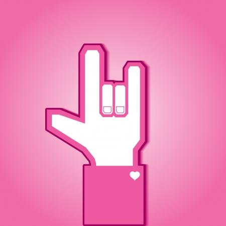 Love symbol Stock Vector - 15375197