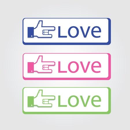 Love symbol Stock Vector - 15375184