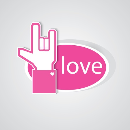 POP UP LOVE 3 Vector