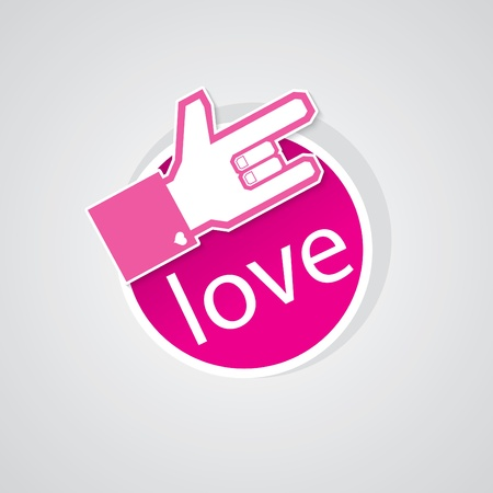 POP UP LOVE 2 Stock Vector - 15375192