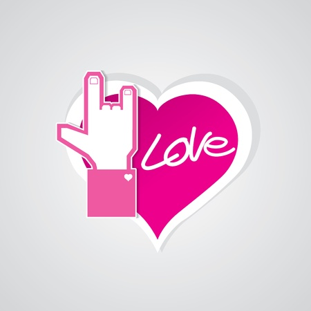POP UP LOVE 1 Stock Vector - 15375186