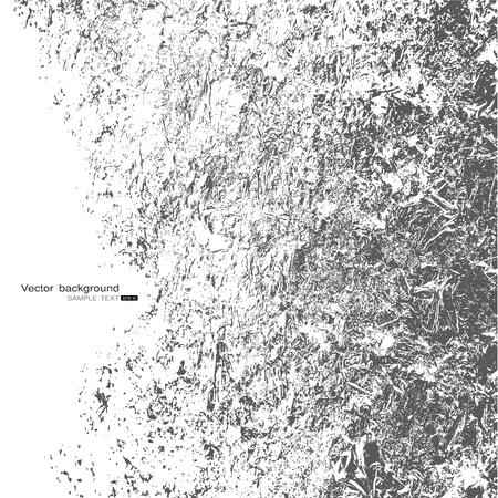 dirt texture: grigio grunge frame Vettoriali