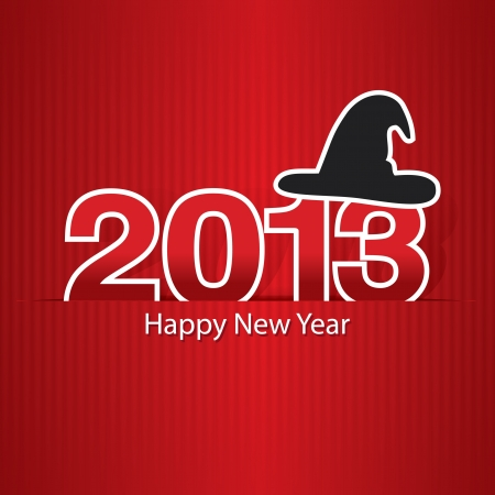 2013 Happy New Year design, background   illustration
