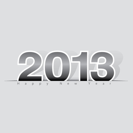 2013 Happy New Year design, background   illustration Vector