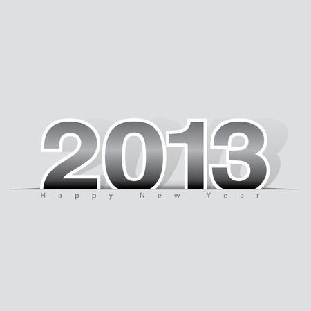 2013 Happy New Year design, background   illustration