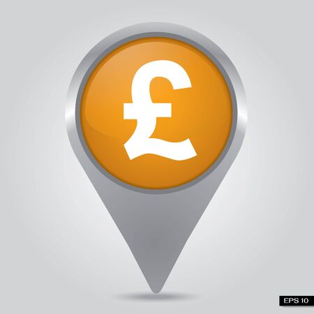 check in Pound sterling, Money  Stock Photo