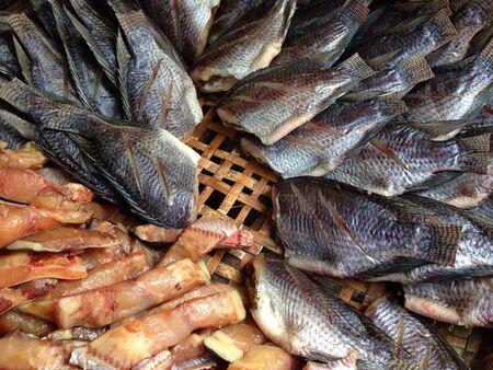 Dryfish in Thailand