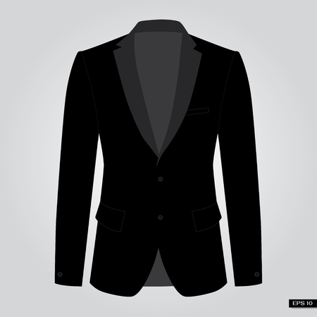 Black suits. Vector. Illustration
