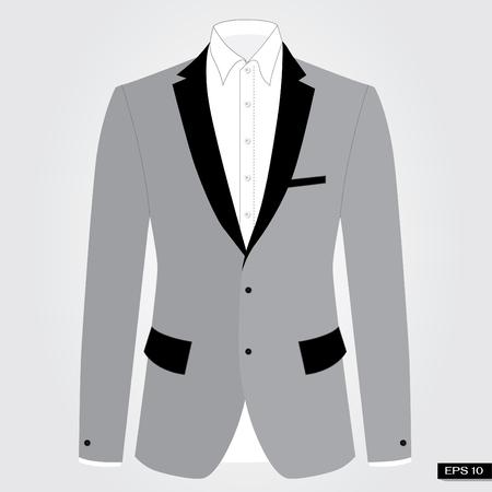 Grey suits. Vector