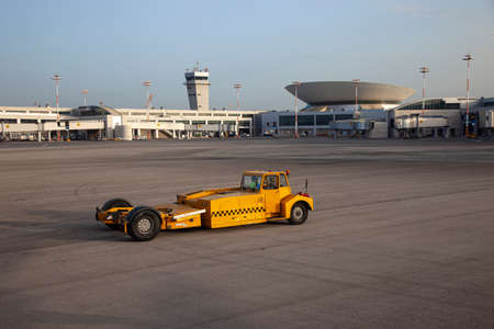 Service Car - Pushback Truck in Airport